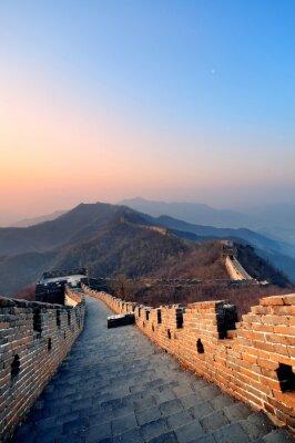 Obraz Wielki Mur rano