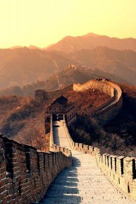 Wielki Mur rano