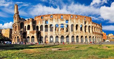 Wielki zabytków włoski - Colosseum