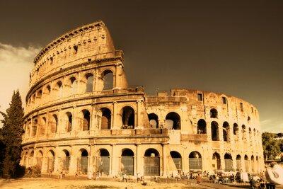 Wielki zabytków włoski serii - Colosseum