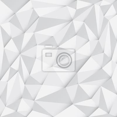 Obraz Wielokątne (low poly) abstrakcyjne mozaiki tła, ilustracji wektorowych, Szablon Biznes