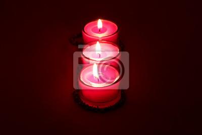 Obraz Wiersz świec