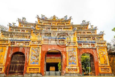 Wietnam świątynia w mieście Hue, Wietnam