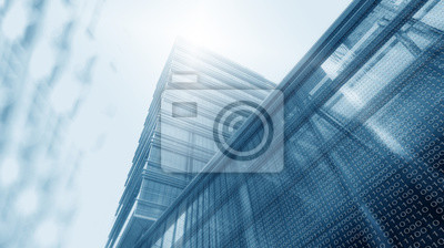 Obraz Wieża cyfrowa