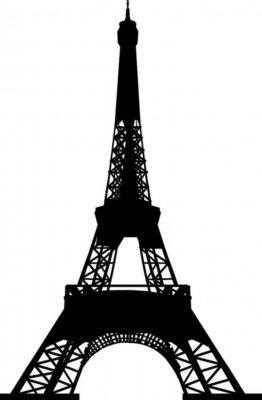 Wieża Eiffla plik wektorowy