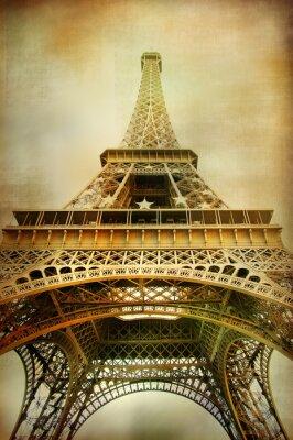 Wieża Eiffla - styl artystyczny obraz