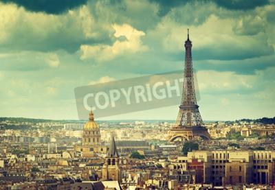 Obraz Wieża Eiffla w Paryżu. Francja