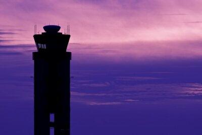 Obraz Wieża kontroli lotniska