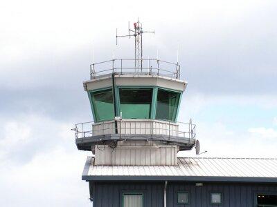 Obraz Wieża kontroli ruchu lotniczego