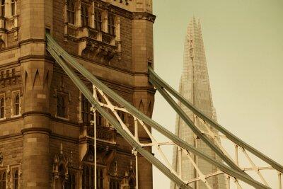 Obraz Wieża most