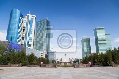 Wieżowce w Astana, Kazachstan