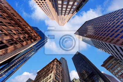 Obraz Wieżowce w centrum miasta