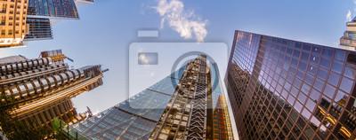 Obraz Wieżowce w City of London