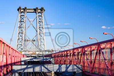 Williamsburg Most między Manhattan i Brooklyn w Nowym Jorku