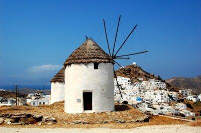Obraz Windmill Chora Ios Cyclades