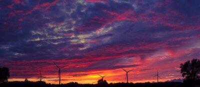 Obraz Windturbines