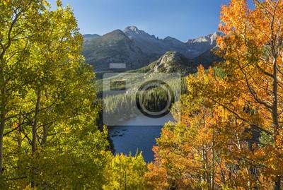 Winieta Bear Lake Autumn