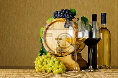 Obraz wino