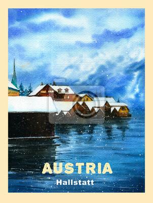 Winter in Austria, Hallstatt