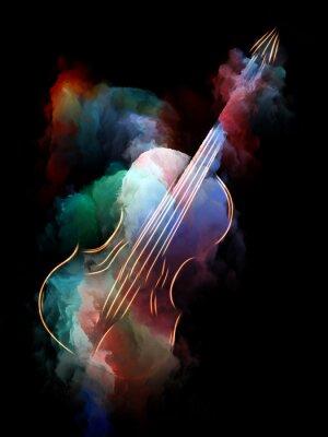 Obraz Wizualizacja muzyki