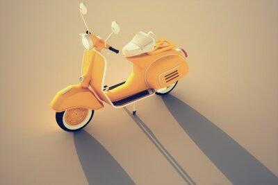 Obraz Włoski rocznik skuter
