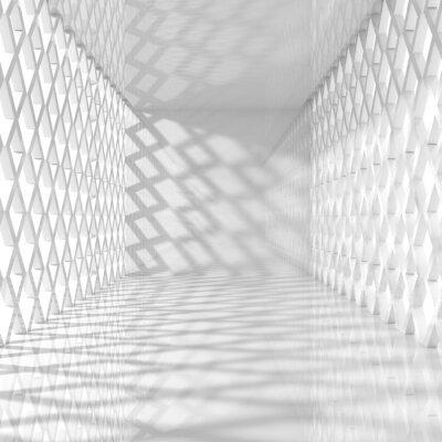 Obraz Wnętrze Z Rhombe systemie Windows