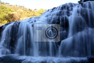 Wodospad Baker Falls. Park Narodowy Horton Plains. Sri Lanka. Azja.