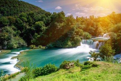 Obraz Wodospady Krka