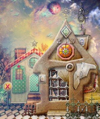 Obraz Wróżka wieś