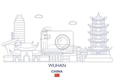 Wuhan City Skyline, Chiny