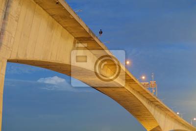 Wysoki Most / Wysoki Most w czasie zmierzchu.