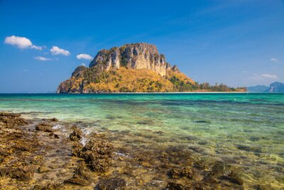 Wyspa w Krabi Tajlandia