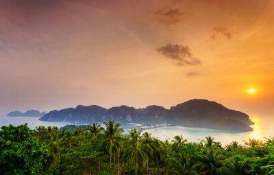 Obraz Wyspy Phi Phi, Krabi, południowej Tajlandii