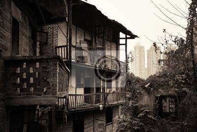 Xiahao Old street balcony