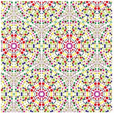 Obraz Абстрактный узор из мелких геометрических элементов, фоновая композиция
