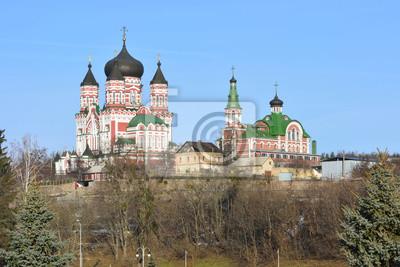 Киев. Церковь в Феофании.
