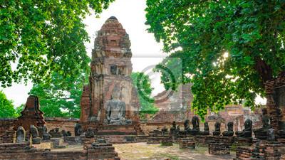 Obraz ア ユ タ ヤ 遺跡 (Historic City of Ayutthaya)