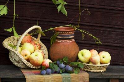 Obraz Натюрморт с фруктами.