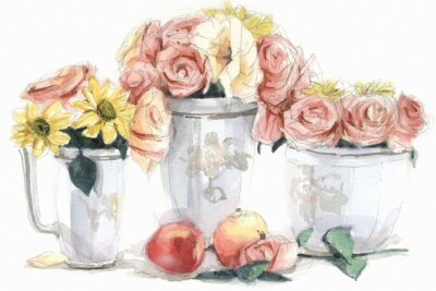 Obraz 꽃 과 정물