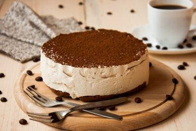Obraz торт тирамису