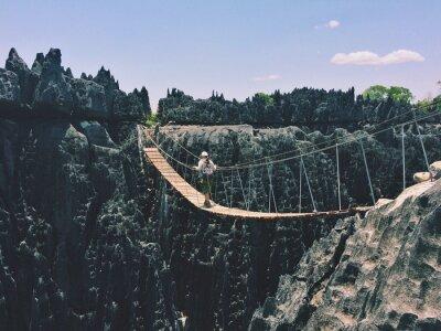 Obraz висячий мост