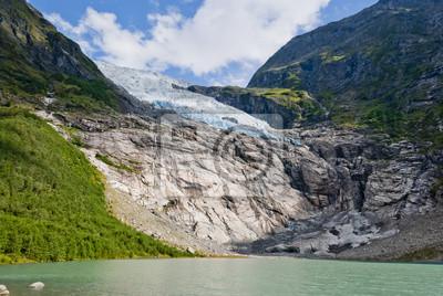 Boyabreen (Bøyabreen) Glacier, Norwegia
