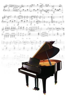 Obraz ピアノ