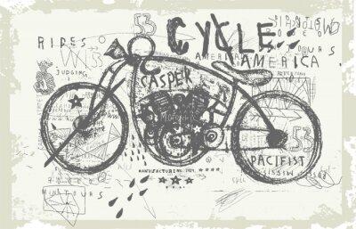 Obraz Мотоцикл