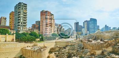 Zabytki dzielnicy Karmouz, Aleksandria, Egipt