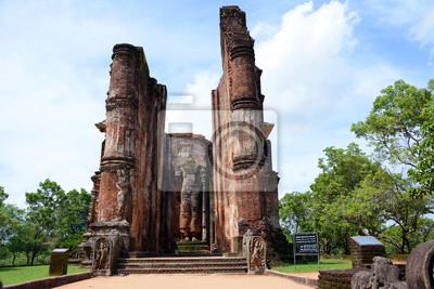 Zabytkowa część miasta Polonnaruwa. Sri Lanka. Azja.