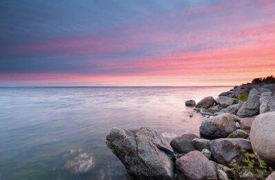 Obraz Zachód słońca nad Zatoką Pucką