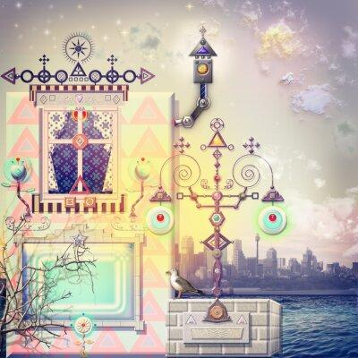 Obraz Zaczarowany dom w raju