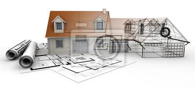 Obraz Zakończenie projektu Architektura
