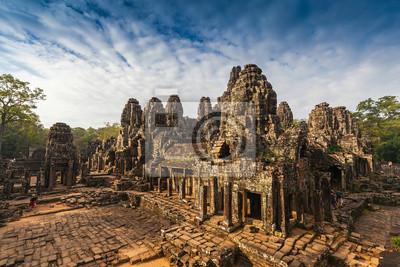 Zamek Bayon, Angkor Thom, Kambodża